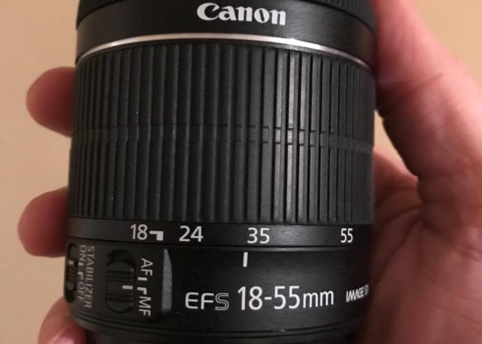 18-55mm Canon Lens - 1