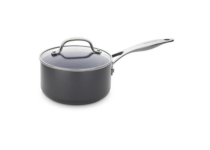 18cm Saucepan with Lid 2.0L (Gd N/S) - 1