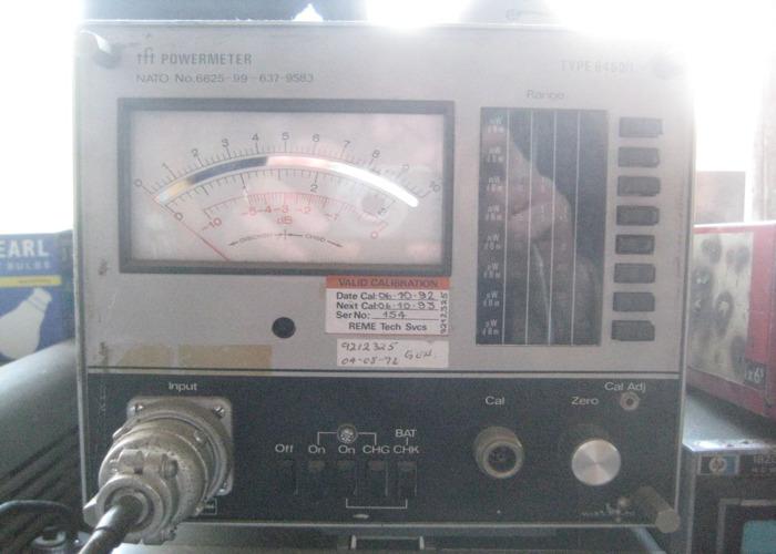18GHz Power Meter Marconi 6460/1 - 1