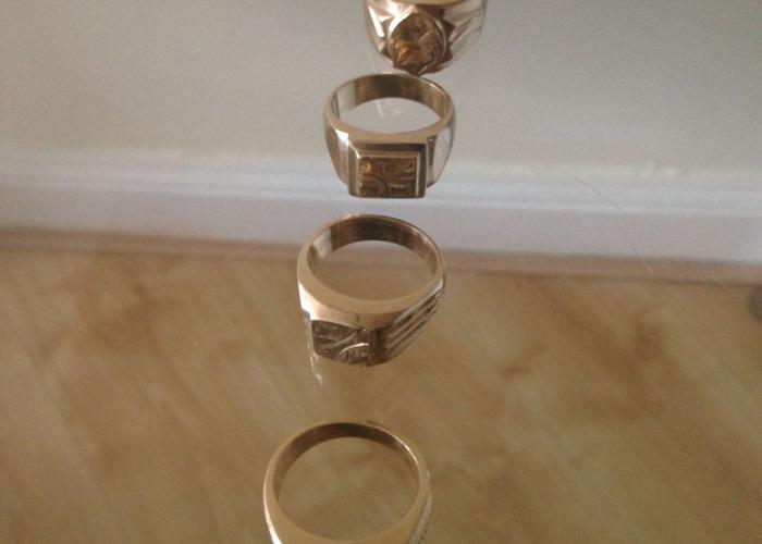 18K Gold Ring - 1