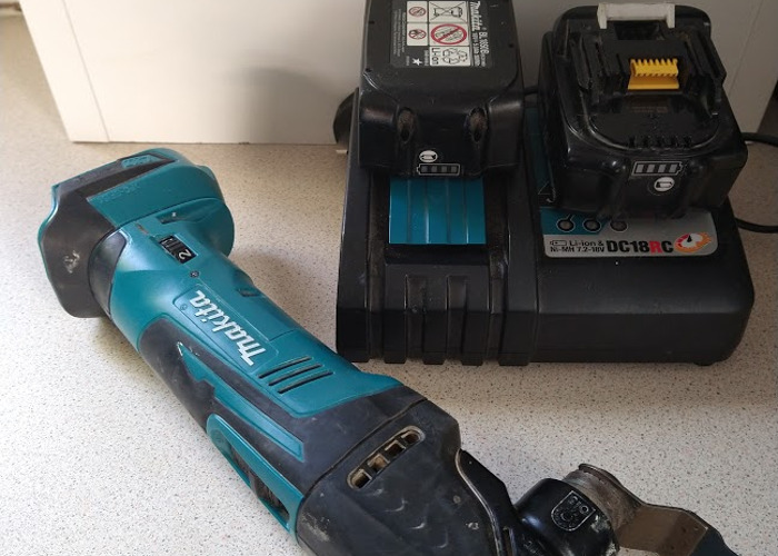 18v Cordless Multi Saw - Makita  - 1