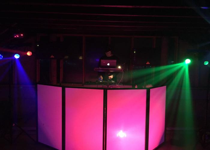 1900W Speaker System W/ Lights. - 1