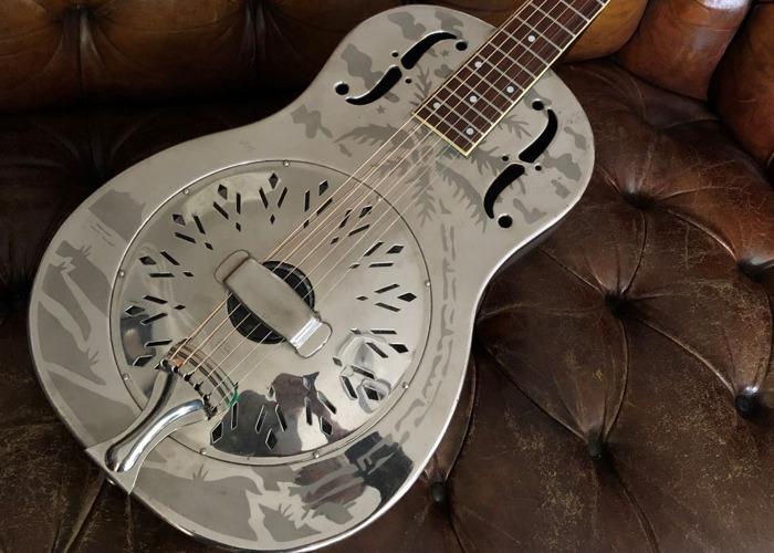 1934 National Style O Resonator Acoustic Guitar - 1