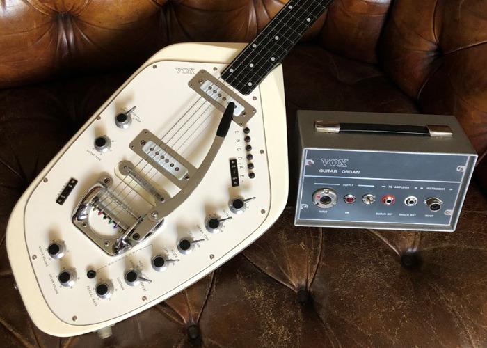 1966 Vox V251 Guitar Organ - Unique Space-Age Guitar - 1