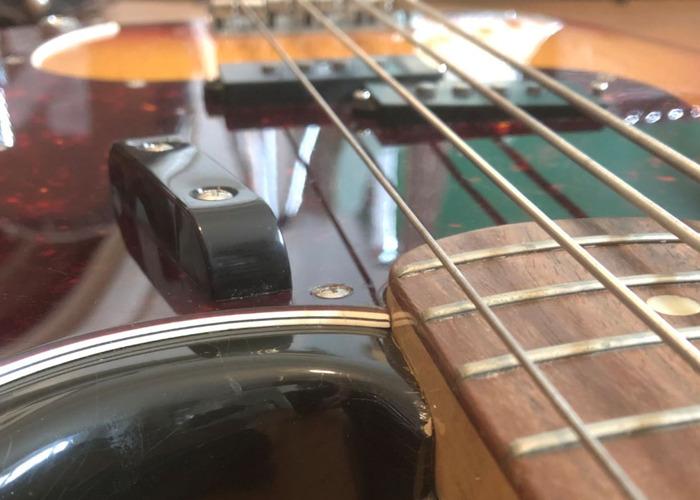 1972 Fender Precision Bass Guitar, Classic Sunburst - 2