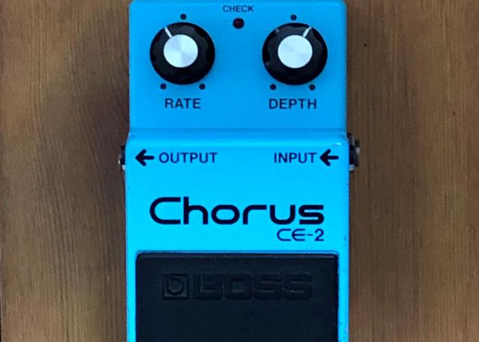 1980s Boss CE-2 Chorus - The Original & The Best - 1