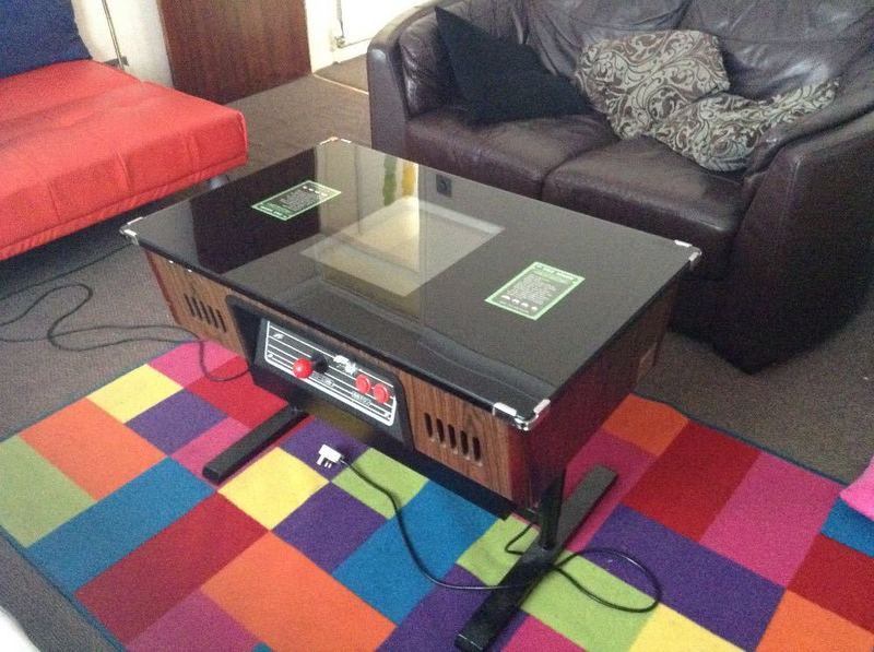 1980s Tiato games table - 2
