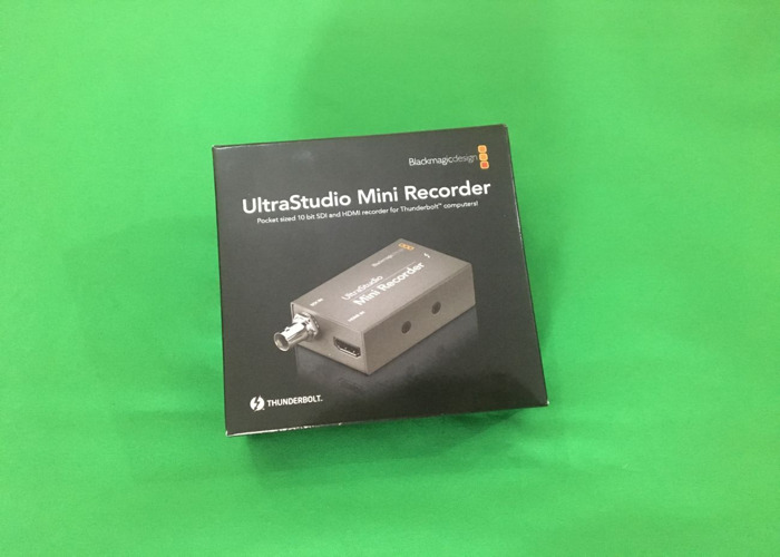 1x BMD Ultra Studio Mini Recorder with Thunderbolt 2 Cable (live stream & capture) - 2