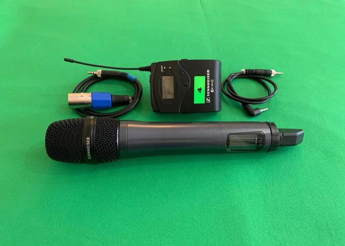 1x Sennheiser G4 handheld wireless microphone kit - 1