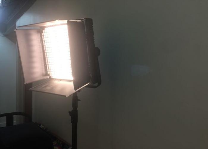 1'x1' portable Light Panel 1024 LED, Bi-colour Hi-CRI  - 2