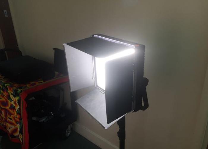1'x1' portable Light Panel 1024 LED, Bi-colour Hi-CRI  - 1