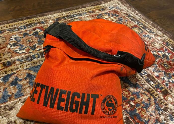 2 - 25 lb. Sand Bags - 1