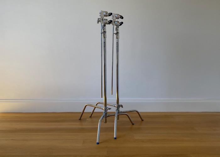 2 Manfrotto C-Stands & Arms - 2
