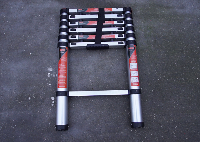 2 Metre Telescopic Extendable Ladder Painting Decorating - 1