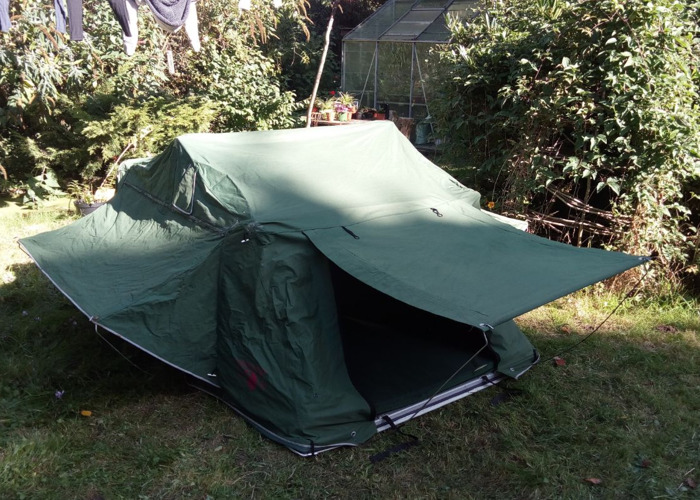 2 person roof tent / 4x4 tent - 1