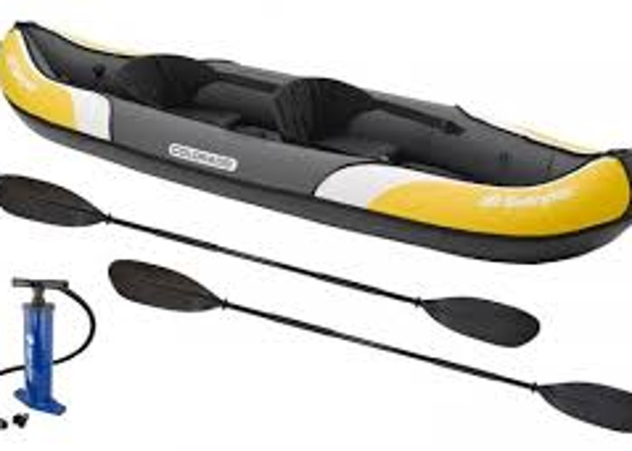 2 Person Sturdy Inflatable Kayak - 2