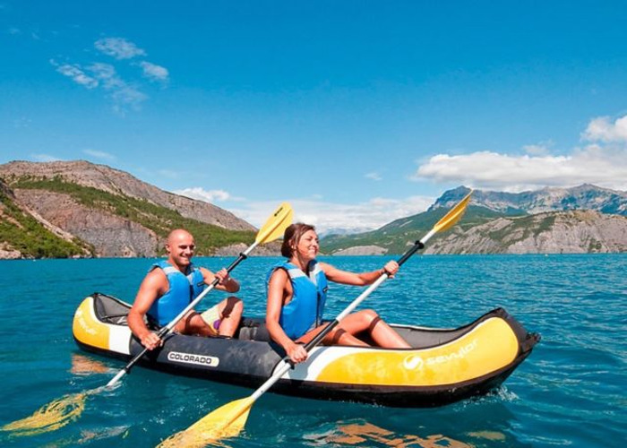 2 Person Sturdy Inflatable Kayak - 1