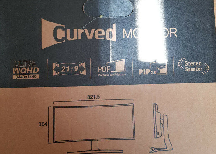 2 Samsung Curved Monitors  - 2