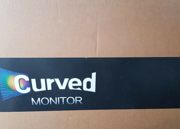 2 Samsung Curved Monitors  - 1