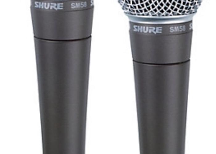 2 SM58 Microphones - 1