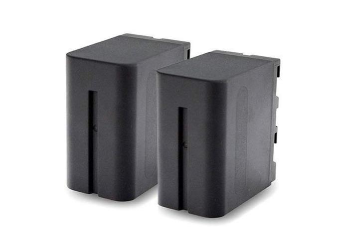 2 Sony NPF-970 Batteries & Charger | 7900Mah - 1