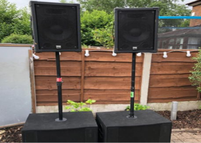 """2 x 12"""" tops and 15"""" Subs - 1"""