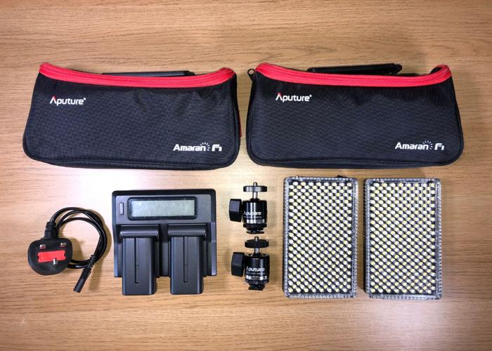 Aputure Amaran AL-F7 LED Lights (X2) - 1