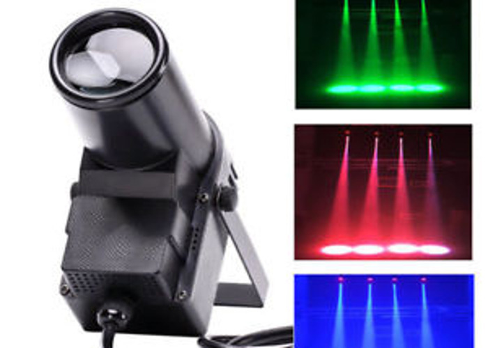 2 X DMX Controlled Spotlights (Club-lights)  - 1