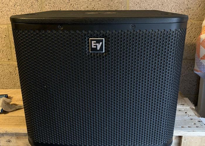 2 x Electro Voice Subwoofers - 1