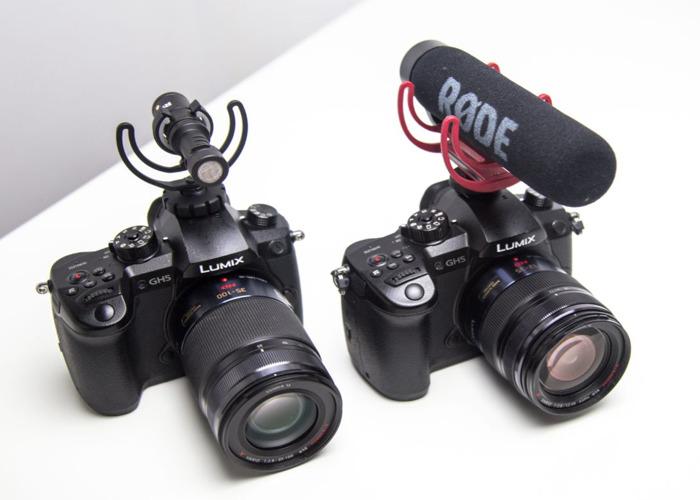 2 x GH5 Cameras + 35-100mm + 12-35mm + 2 x Roede Mics  - 2