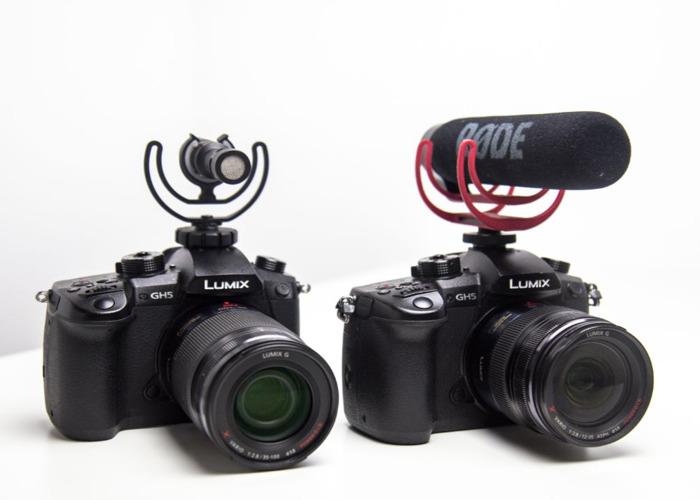 2 x GH5 Cameras + 35-100mm + 12-35mm + 2 x Roede Mics  - 1