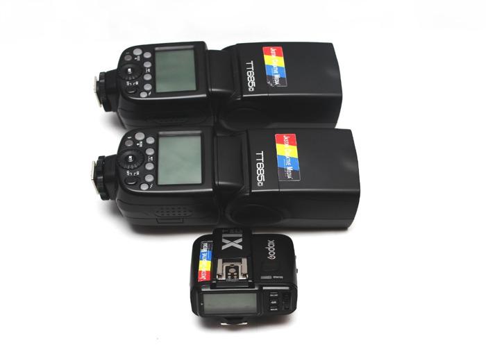 2 x Godox TT685C Speedlite High-Speed Sync Flash - 1
