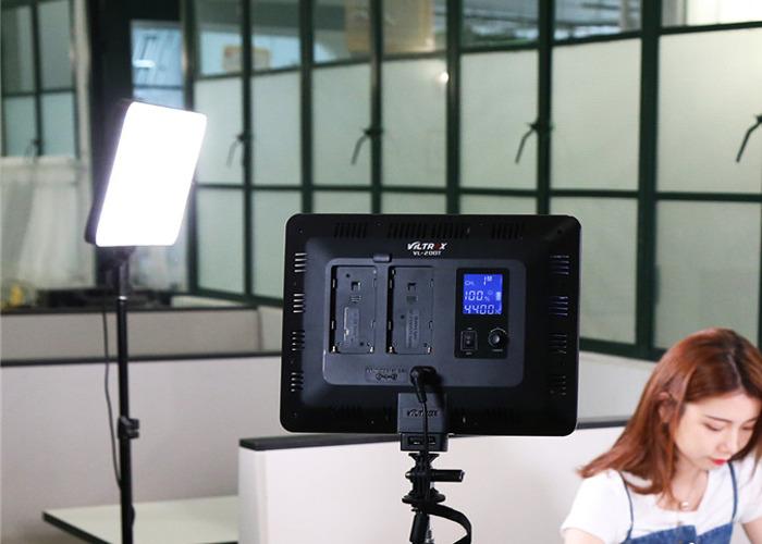 2 x LED Studio Panel Lights (Viltox 200) - 1