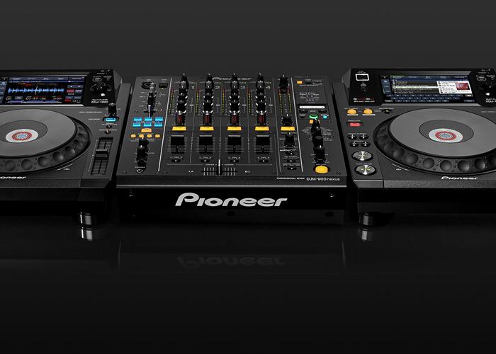 2 x Pioneer XDJ 1000 MK1 + Pioneer DJM900 NX2 Set - 1