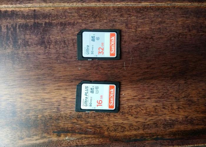 2 x SD Cards - 1