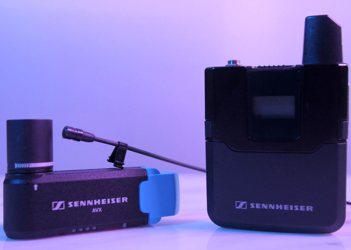2 x Sennheiser AVX-MKE2 Digital Wireless Microphone - 2