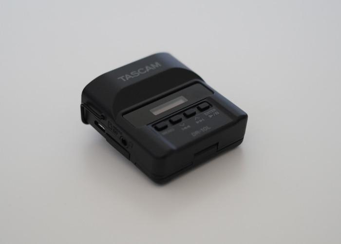 2 x Tascam DR-10L + Tascam TM-10LB Lav Mic + 16GB + 2 Batter - 2