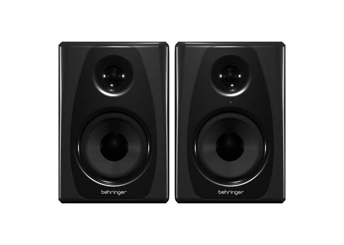 2 x yamaha speakers, 1 x high end studio monitor amplifier.  - 1