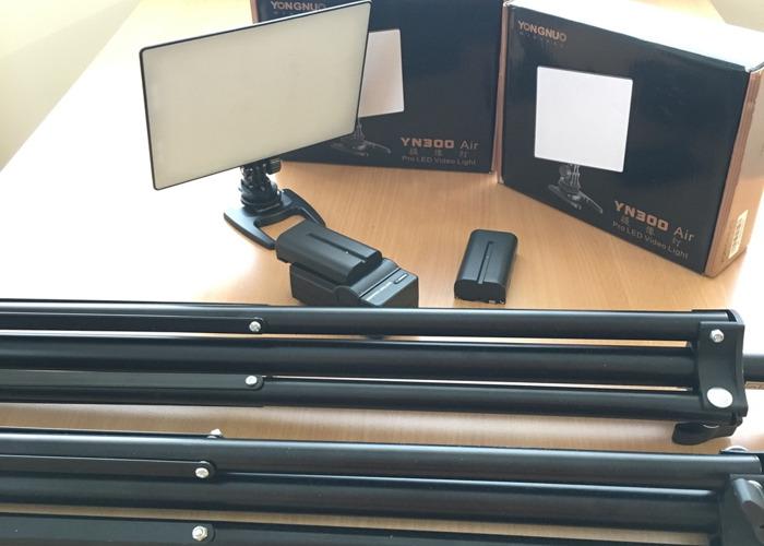 2 Yongnuo YN300 Air Pro LED Video Light - 1