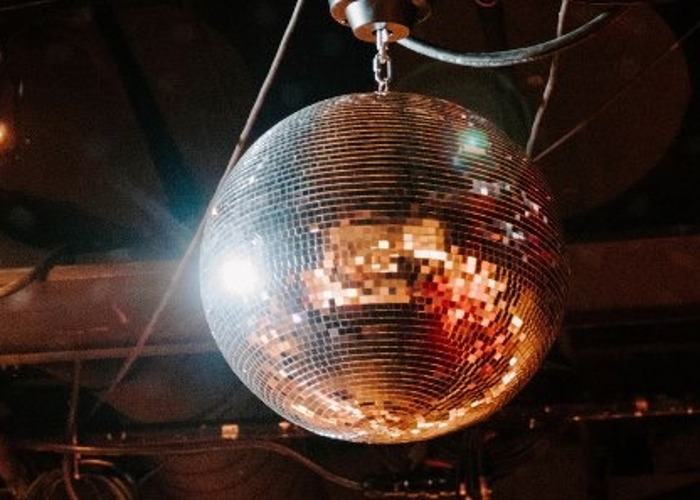 """20"""" Disco Ball with Motor and LED Pin Spot - 1"""