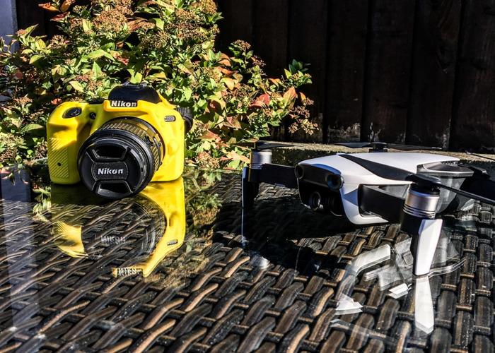 15% Off Photo Bundle - DJI Mavic Air Drone & Nikon D5500 Camera - 1