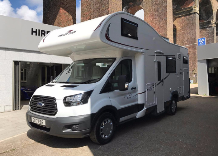 2017 6 Berth Motorhome including Insurance  - 1