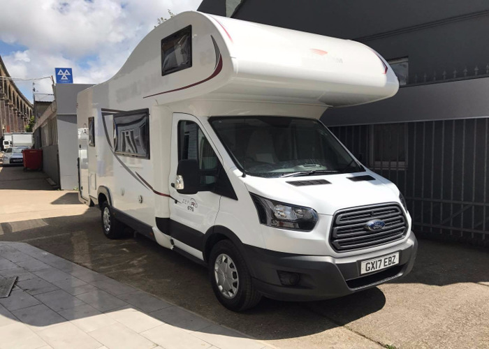 2017 6 Berth Motorhome including Insurance  - 2
