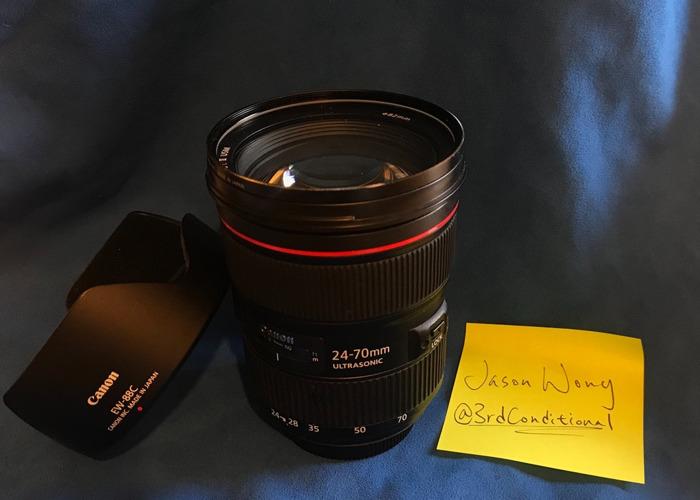 20-70mm f/2.8 ii Canon L Series   - 1