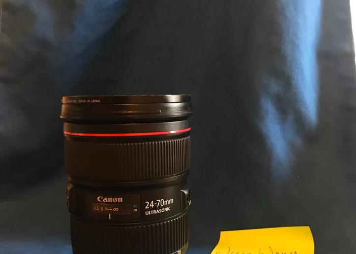 20-70mm f/2.8 ii Canon L Series   - 2