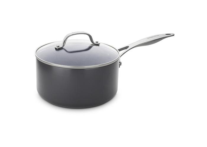 20cm Saucepan with Lid - 3.1L (Gd N/S) - 1