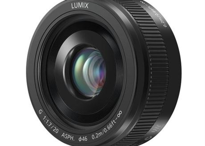 20mm f1.7 Panasonic lens (Great for low light and landscapes) Micro Four Thirds/MFT - 1