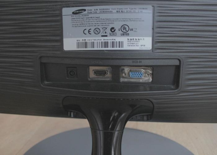 """22"""" Computer Monitor LED - Samsung  - 2"""