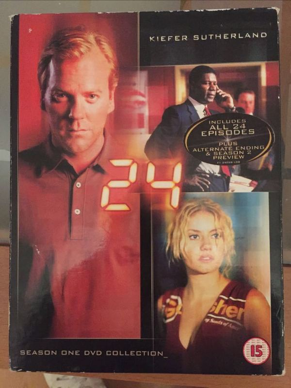 24 SEASON 1 DVD BOXSET - 1
