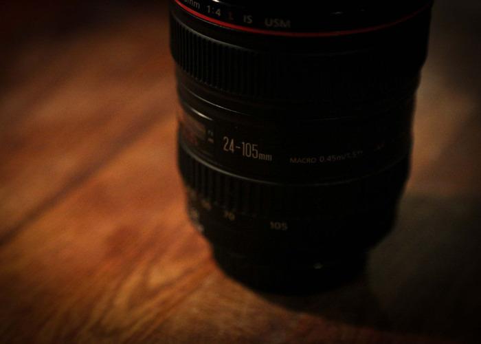 24-105mm f4 EF  Canon Lens - 2